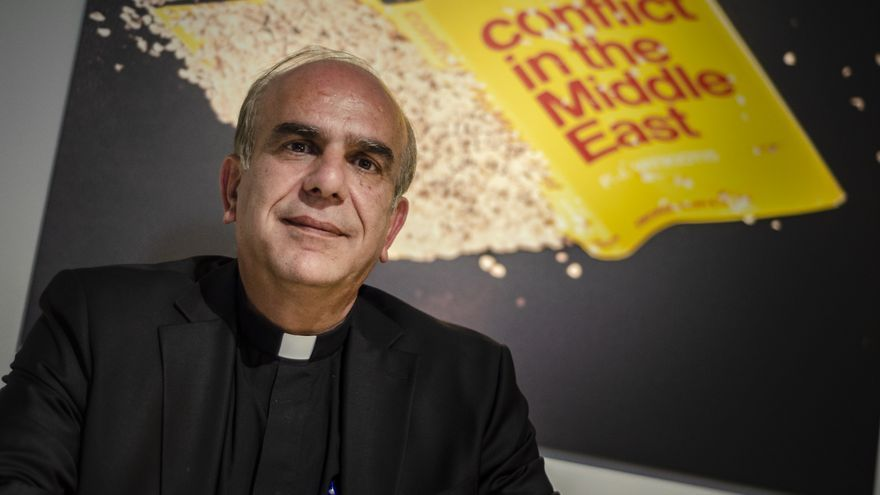 Jamal Khader, párroco de la Iglesia Católica de la Sagrada Familia en Ramallah (Palestina)
