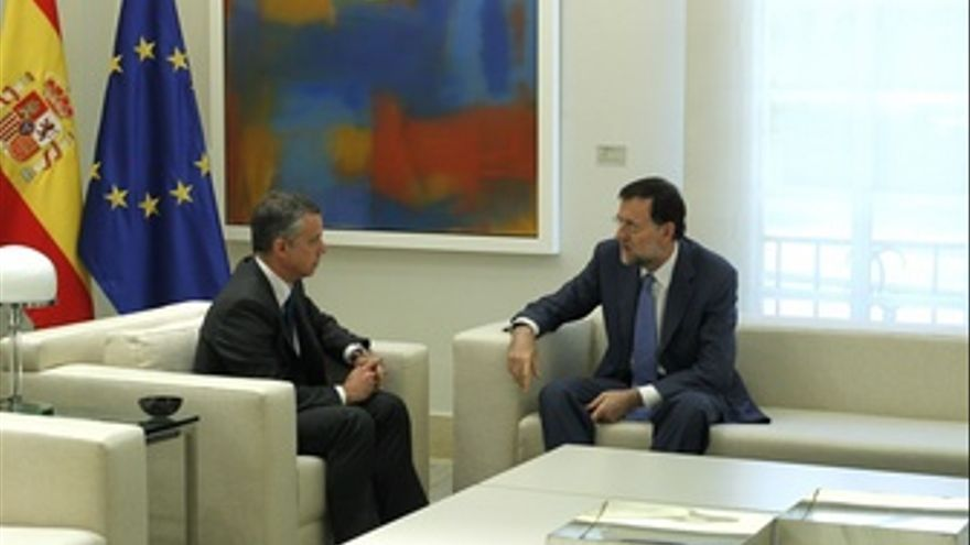 Rajoy Se Reúne Con Urkullu