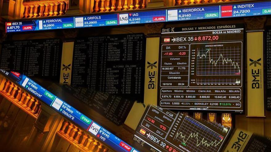 La banca, encabezada por Liberbank y Bankia, vuelve a sufrir en bolsa
