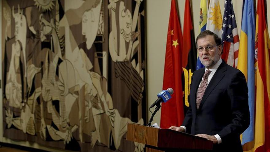 Rajoy cree que España reforzó la credibilidad del Consejo de Seguridad de la ONU