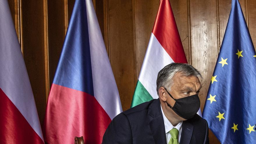 El primer ministro de Hungría, el ultranacionalista Viktor Orbán.