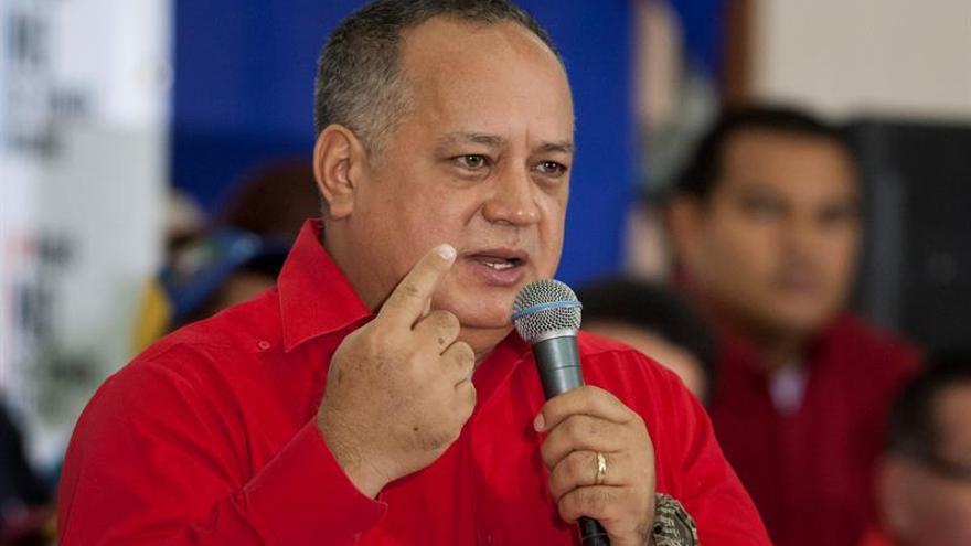 """Cabello dice que """"no habrá diálogo"""" con la oposición porque no va a haber referéndum"""