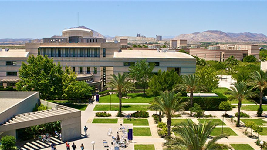 El campus de la Universidad de Alicante.