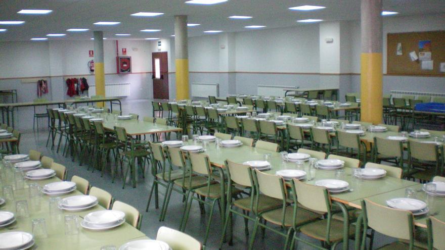 Comedor escolar en el C.P Cardenal Mendoza en Guadalajara