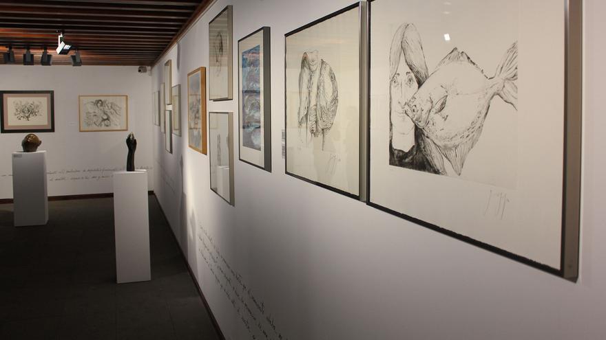 La obra de Günter Grass puede contemplarse hasta el 26 de julio.