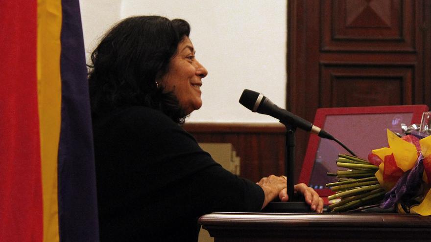Almudena Grandes. / JUANMI BAQUERO