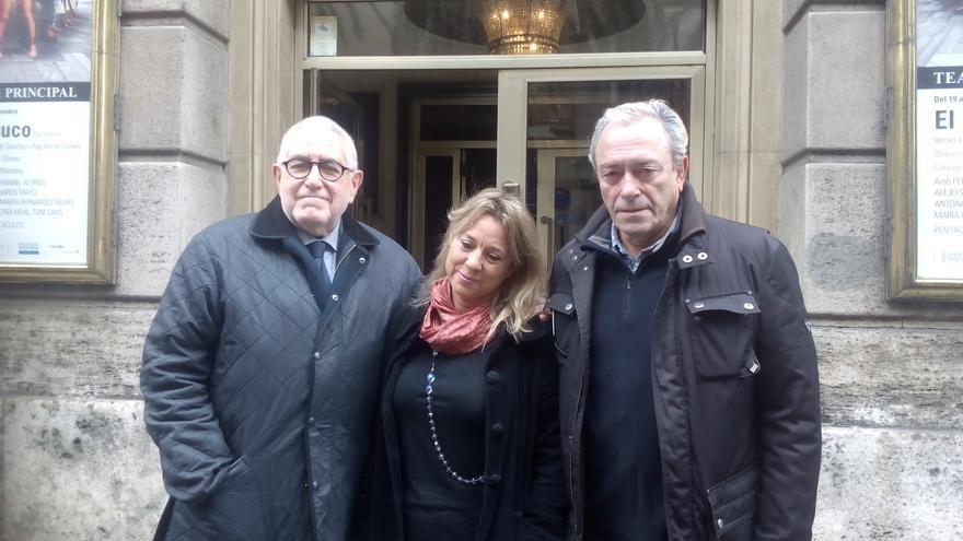 Ignacio Amestoy, Tamzin Townsend y Helio Pedregal