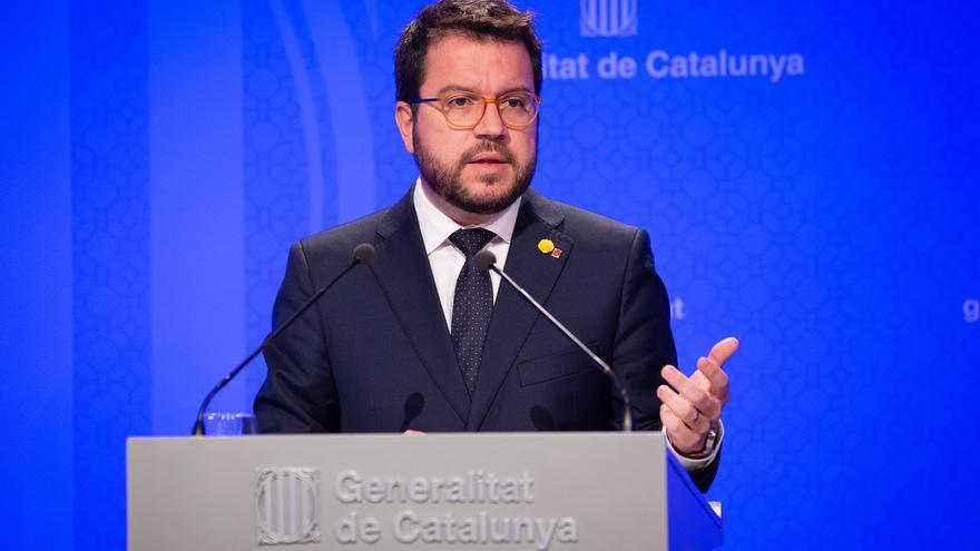 Aragonès comparecerá el 21 de agosto en el Parlamento catalán para explicar el recorte presupuestario