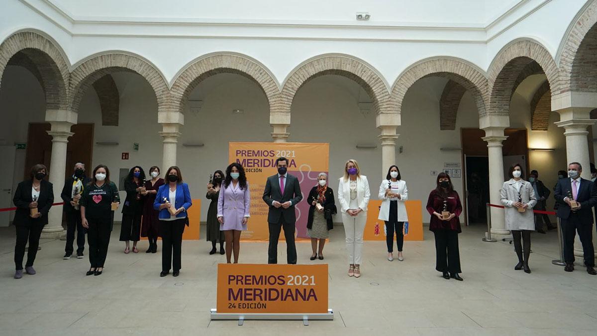 Entrega de los Premios Meridiana 2021 en el Palacio de Congresos de Córdoba.