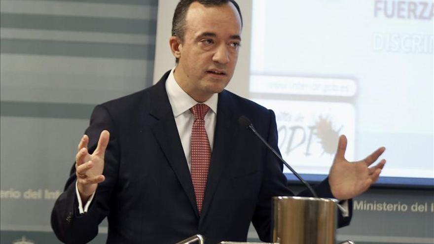 El número dos de Interior, Francisco Martínez.