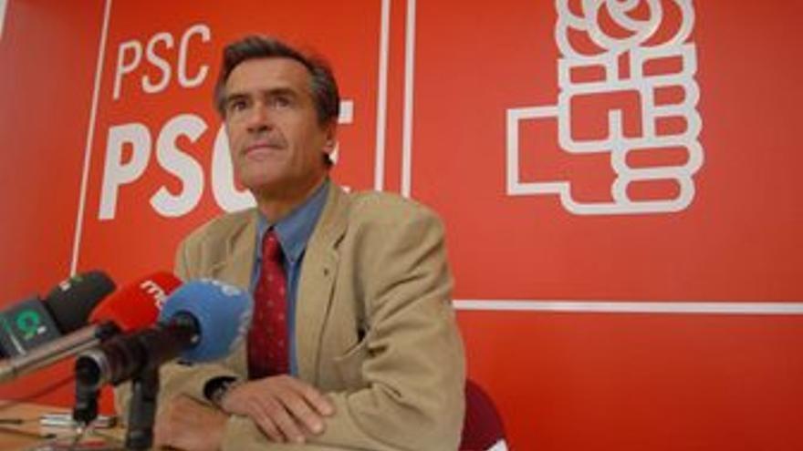 Juan Fernando López Aguilar, este sábado. (ACFI PRESS)