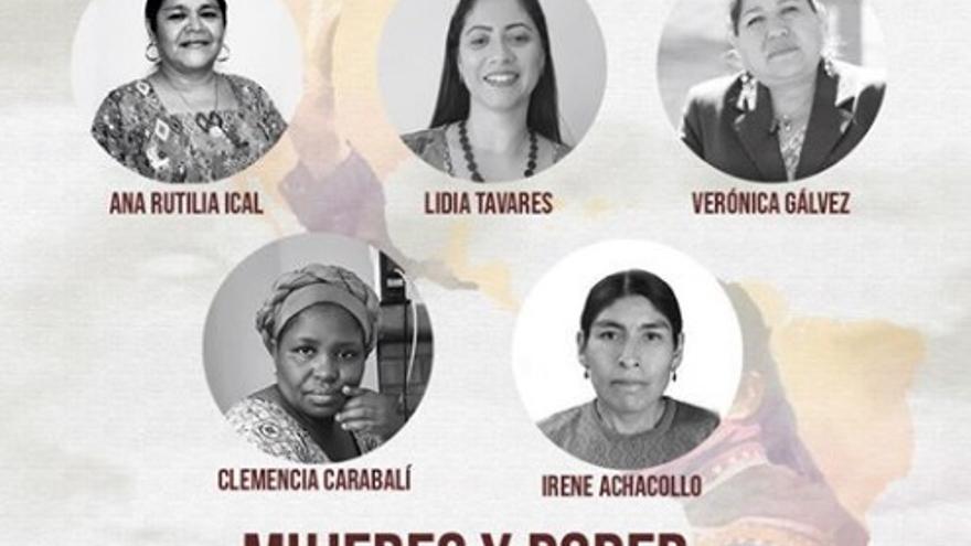 Mujeres y Poder. Liderazgo Político. Conectando luchas y territorios