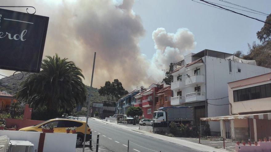 Incendio en Tejeda. (CABILDO DE GRAN CANARIA)