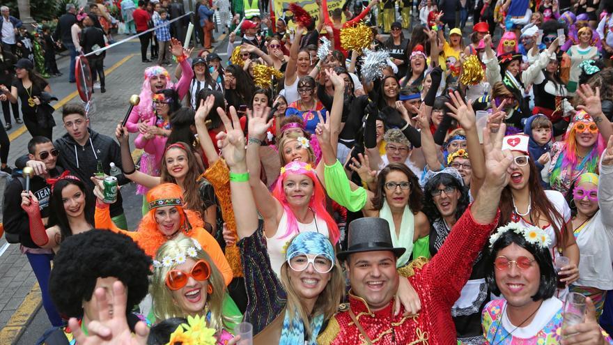 Resultado de imagen de El Carnaval de Las Palmas, declarado de Interés Turístico Nacional