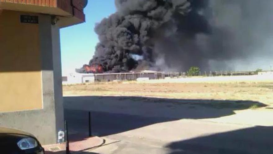Incendio en Torrijos (Toledo) / Foto: Twitter