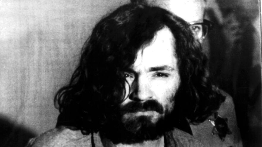 Charles Manson, el 20 de agosto de 1970.
