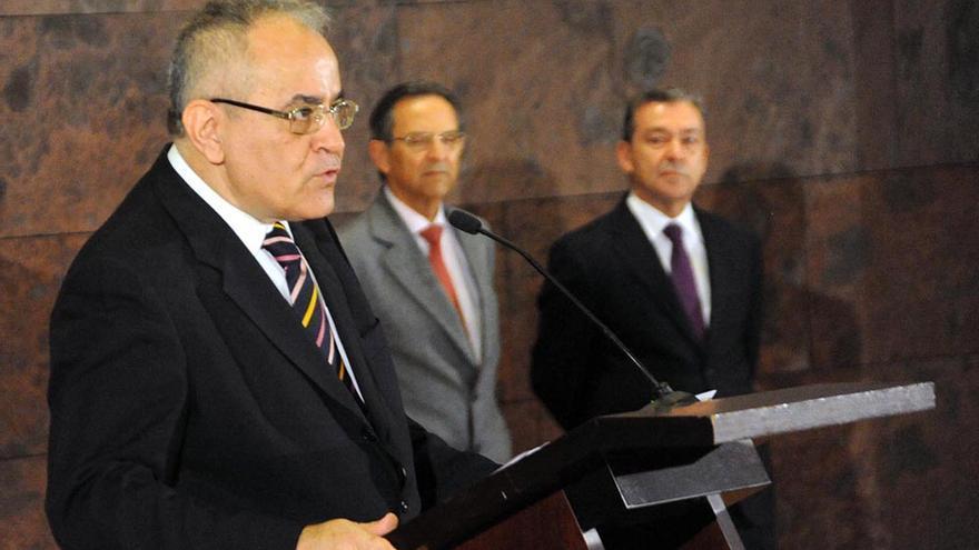 Acto de toma de posesión de Daniel Cerdán como comisionado de Transparencia y Acceso a la Información Pública.
