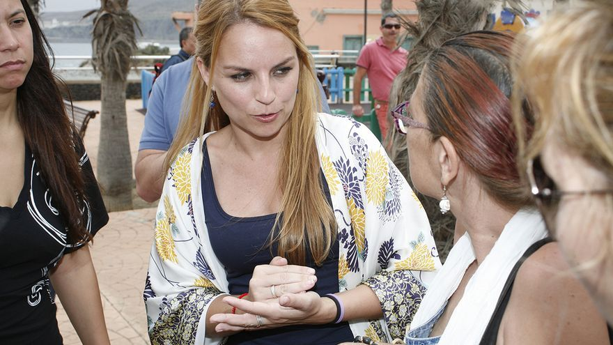 Noemí Santana, candidata de Podemos al Gobierno de Canarias (ALEJANDRO RAMOS)