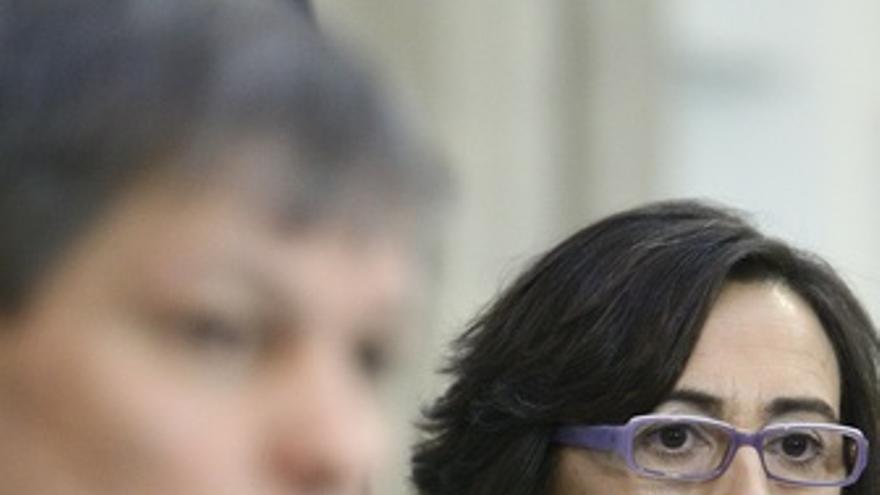 Rosa Aguilar Con Dacian Ciolos
