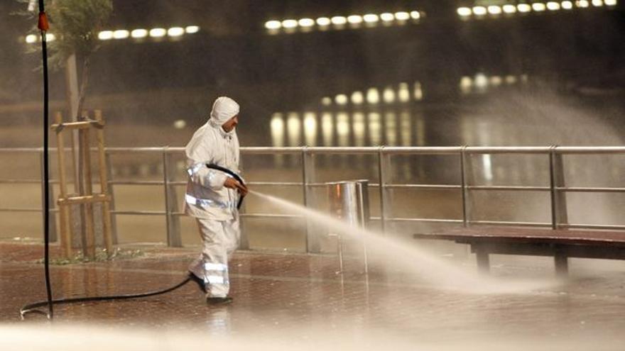 De los trabajos de limpieza #2