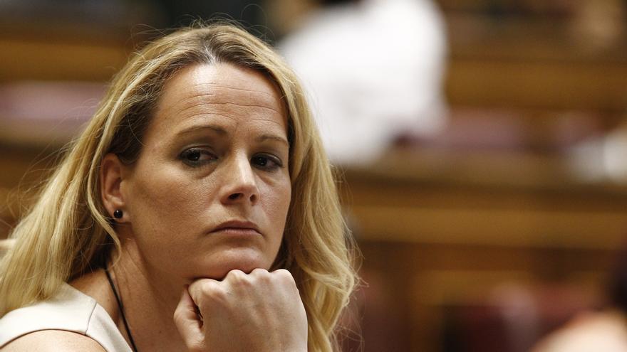 """Zaida Cantera, multada por votar 'no' a Rajoy, se plantea afiliarse al PSOE, si le """"dejan"""""""