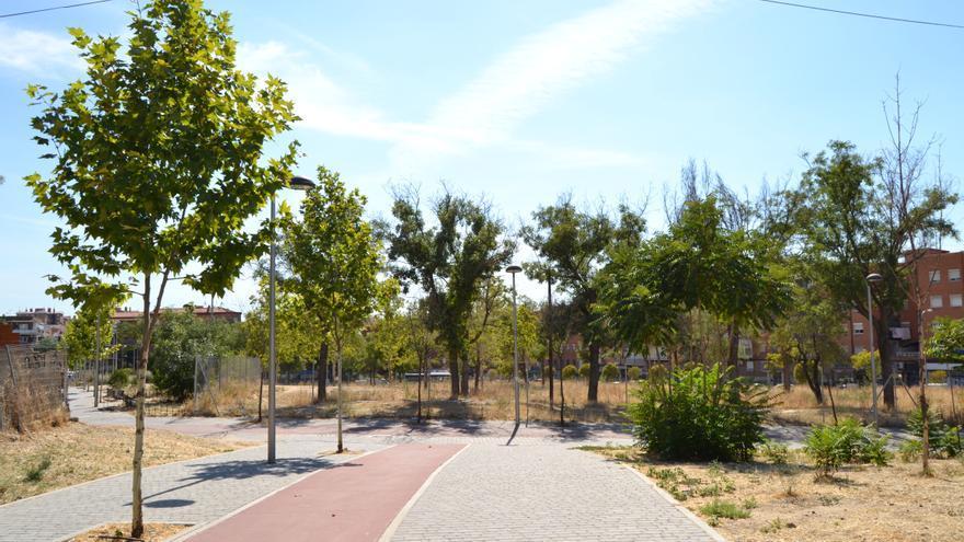 El solar donde se construirán las viviendas intergeneracionales en Madrid