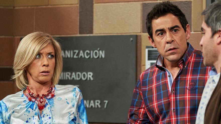 Eva Isanta y Pablo Chiapella en 'La que se avecina'