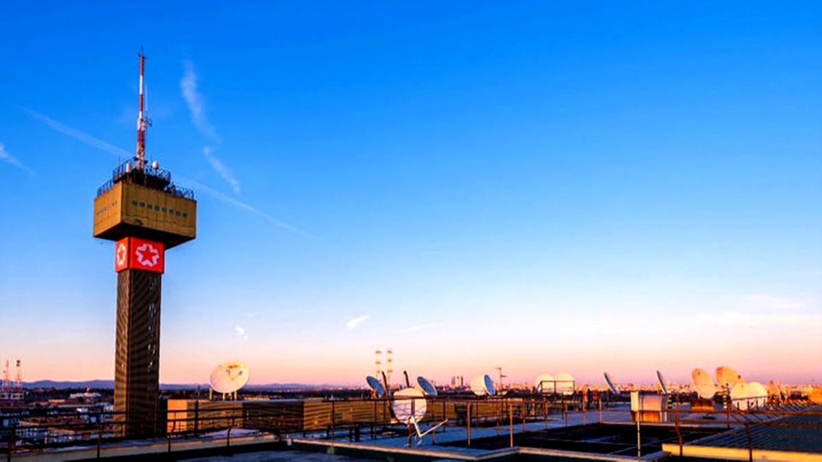 Panorámica de la sede de Telemadrid