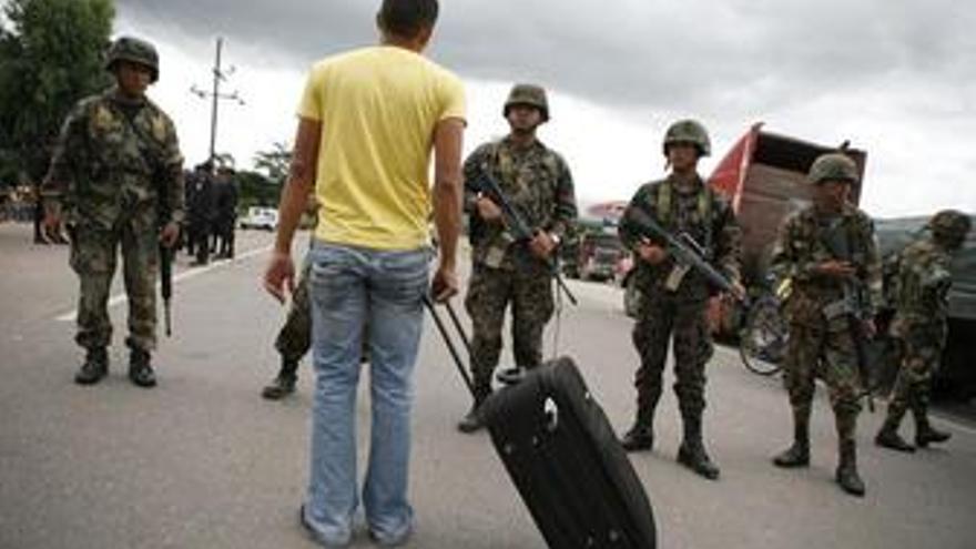 Comienza el desarme en Honduras para evitar problemas en las elecciones
