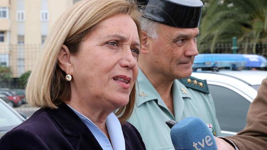 La delegada del Gobierno en Canarias, Mercedes Roldós.