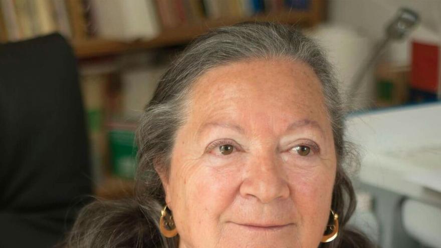 Elsa López es reivindicativa. Foto: MÓNICA RODRÍGUEZ MEDINA