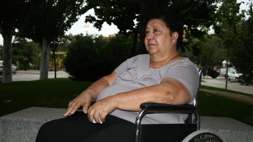 Lourdes no tiene acceso a la sanidad pública a pesar de residir de forma legal en España. / G. S.