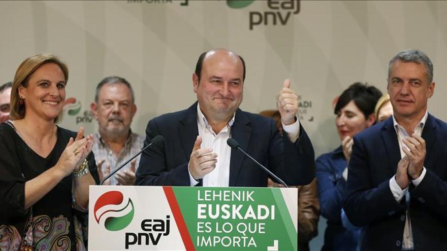 Ortuzar: El PNV no apoyará a Rajoy en la investidura