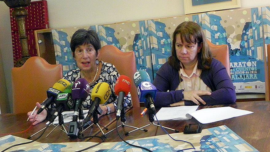 Blanca Calvo y Gloria Márquez