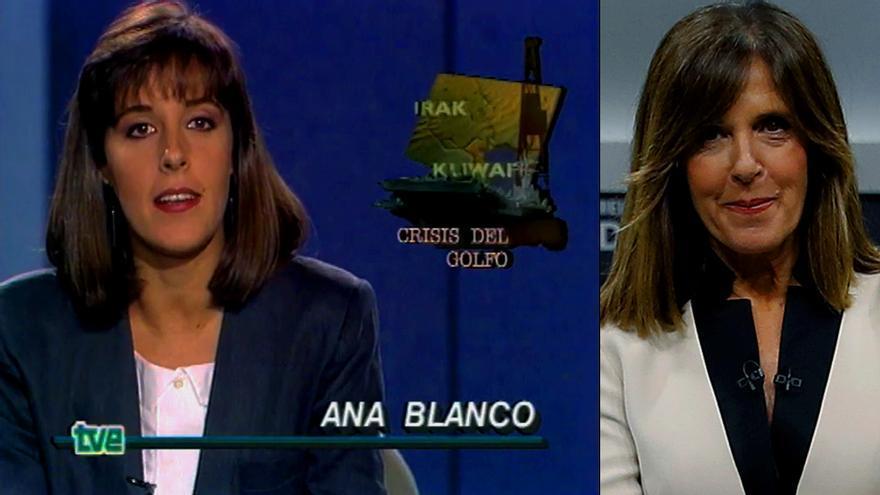 TVE celebra los 30 años del primer Telediario de Ana Blanco