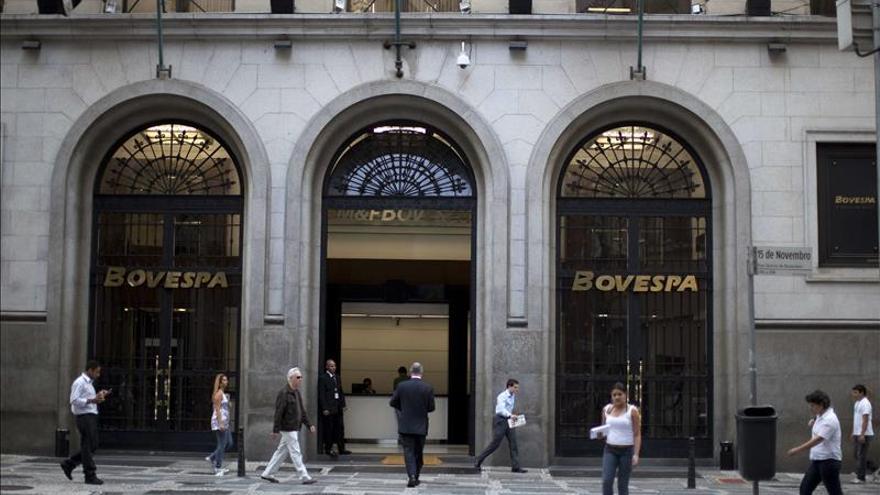 La Bolsa de Sao Paulo abre en bajada por datos negativos para China