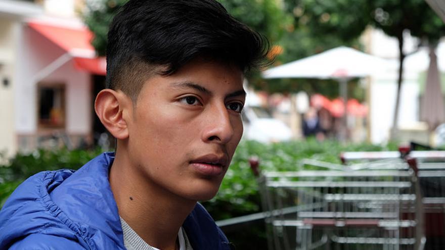 Diego Chalacán, uno de los protagonistas del proyecto Tecnologías del Encuentro. Foto de José Luis Tirado (cc).