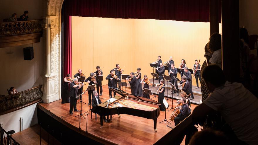 Luis Fernando Pérez actuó junto a Solistas de la Orquesta de Cámara Reina Sofía.