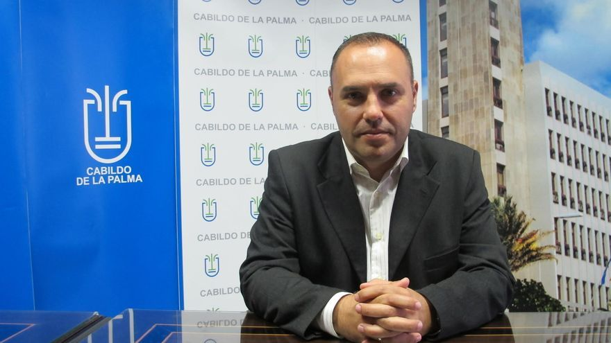 Luis Javier Camacho, consejero de Hacienda y Recurso Humanos del Cabildo de La Palma.