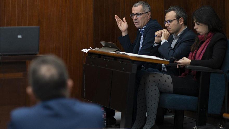Miguel Saro, portavoz de Unidas por Santander. | JOAQUÍN GÓMEZ SASTRE