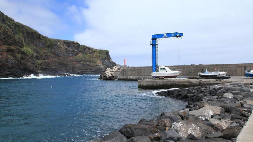 Muelle pesquero de Puerto Espíndola.