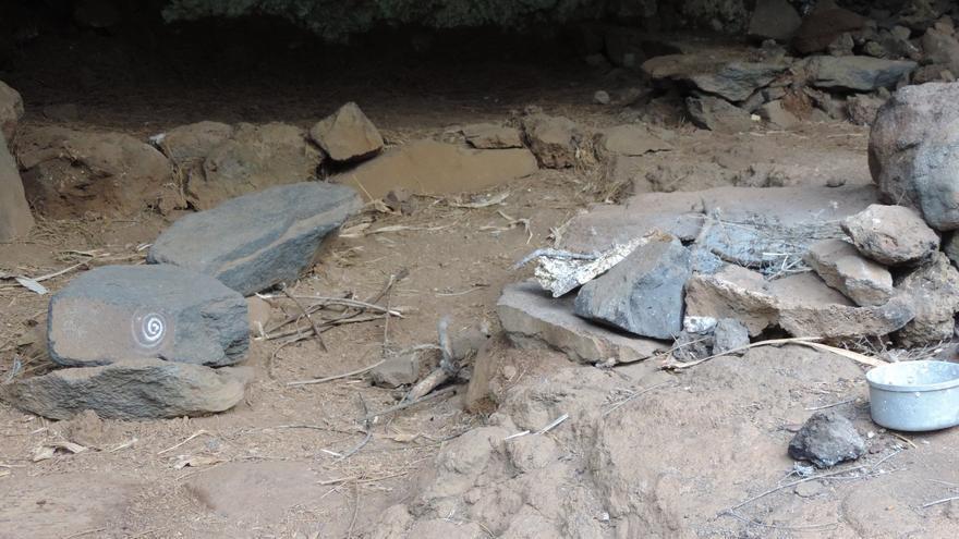 Zona arqueológica de Buracas que se ocupa temporalmente.