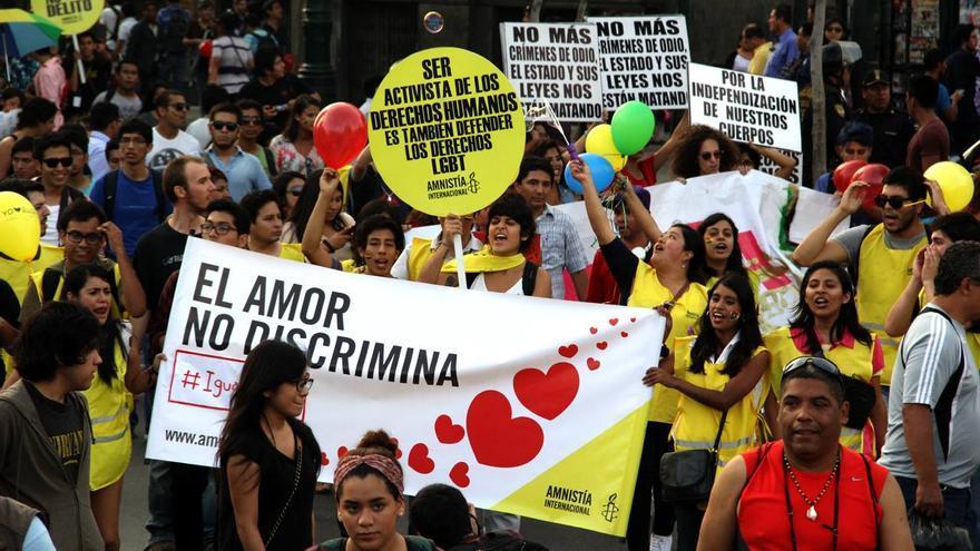 Segunda marcha por la igualdad en Lima / Amnistía Internacional Perú