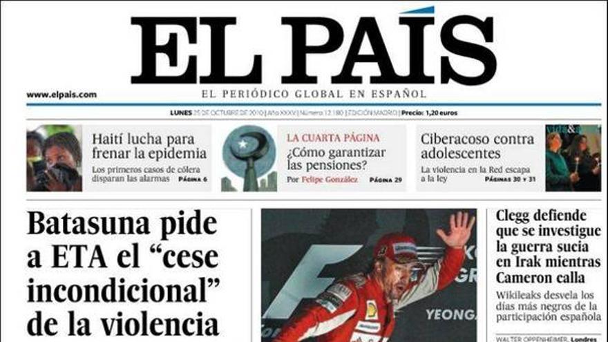 De las portadas del día (25/10/2010) #8
