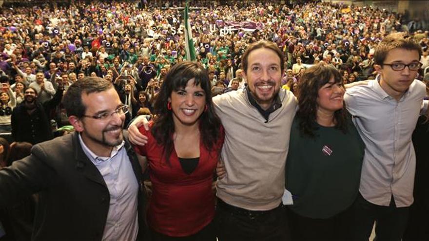 Pablo Iglesias se reivindica como la única alternativa al Gobierno del PP