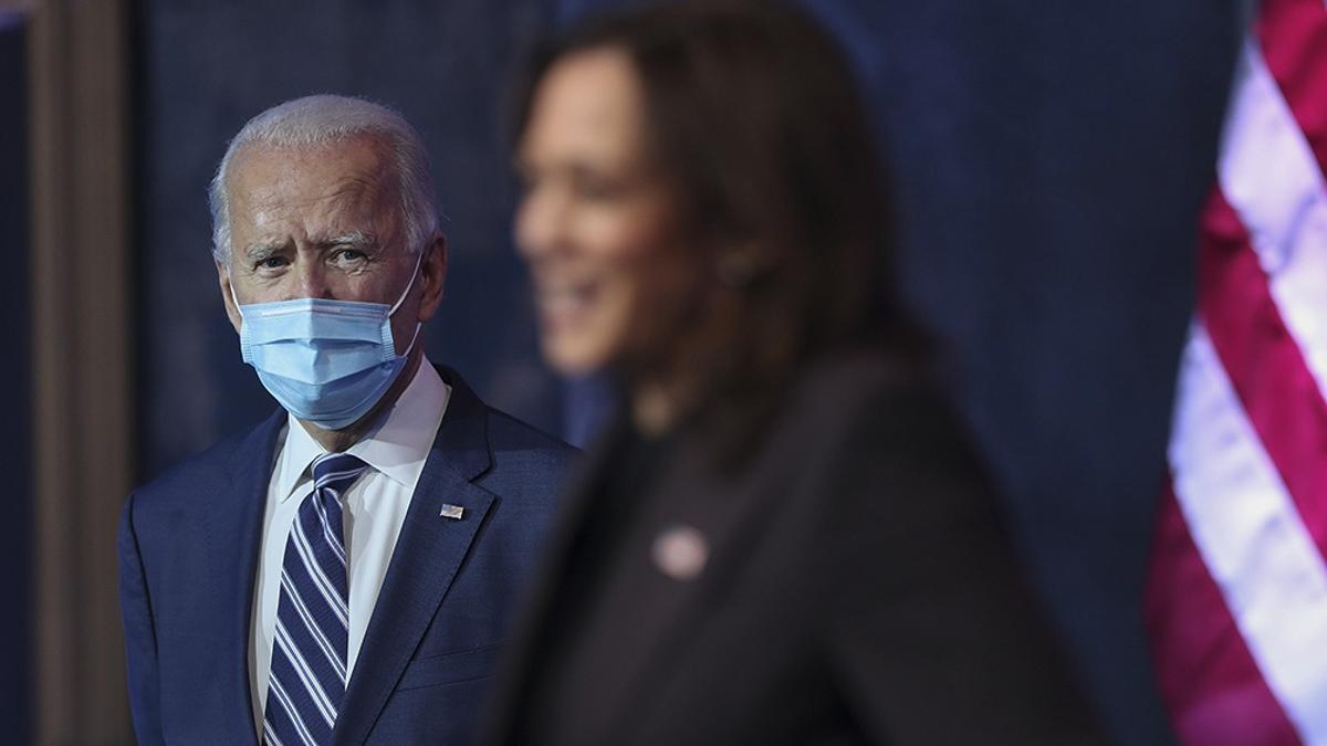 """""""No voy a detener la economía, punto. Voy a detener el virus"""", dijo Biden."""