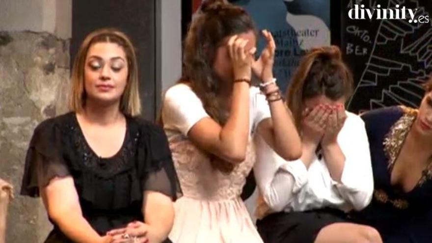 Baño de lágrimas en el programa de Carbonero tras la expulsión de una concursante