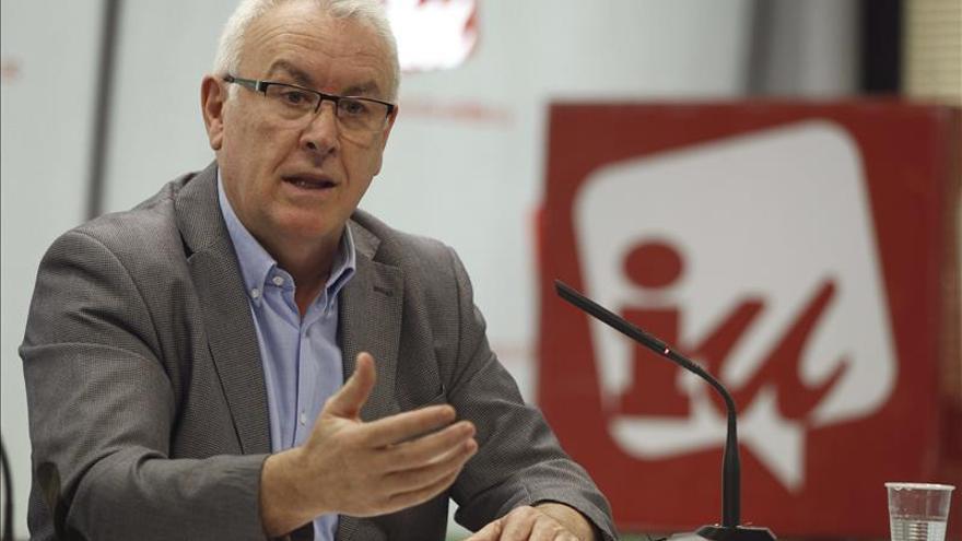 """Cayo Lara dice que la crisis en Andalucía es """"agua pasada"""" y no quedan resquemores"""