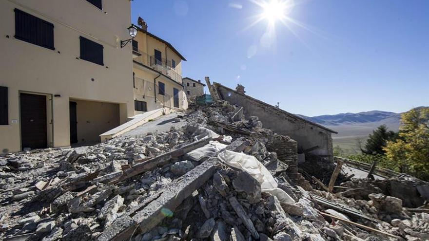 Un terremoto de magnitud 4 sacude nuevamente el centro de Italia