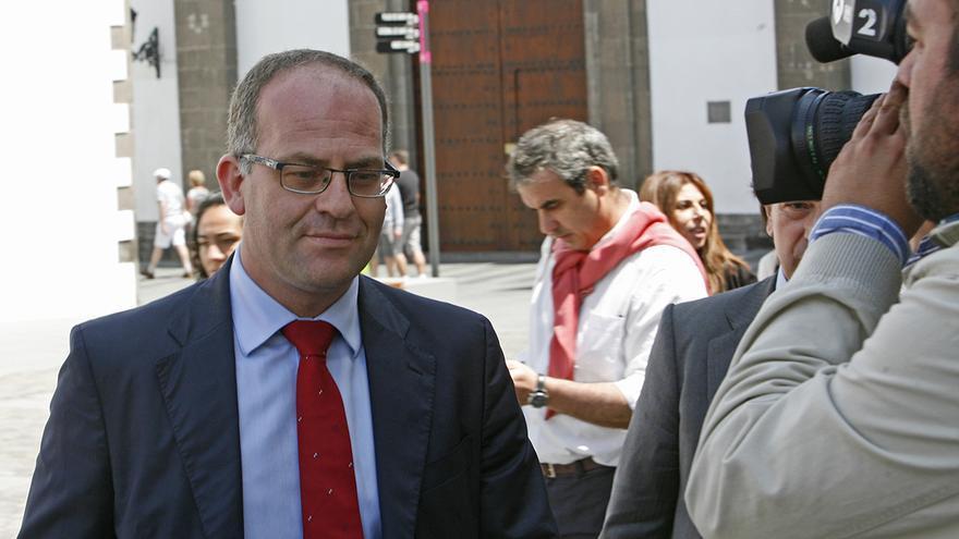El juez César Romero Pamparacuatro. Foto: (Alejandro Ramos)